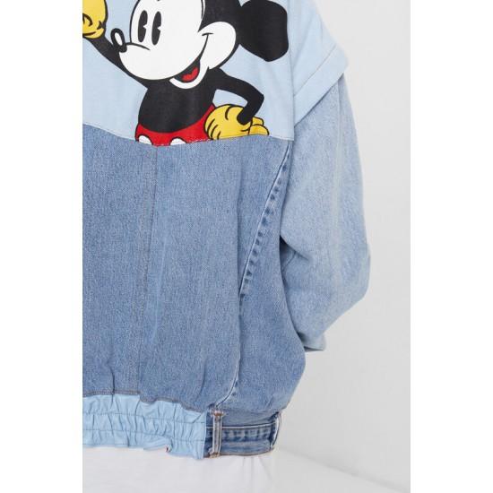 Desigual Soldes Iconic Jacket Mickey Mouse