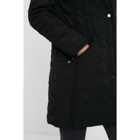 Desigual Soldes Manteau matelassé capuche
