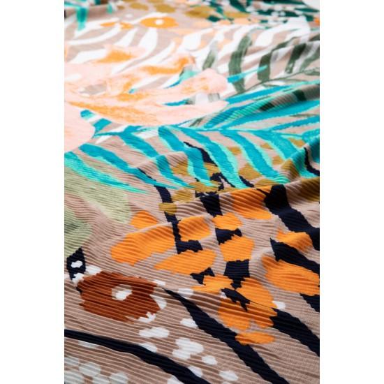 Desigual Soldes Foulard fleuri tropical