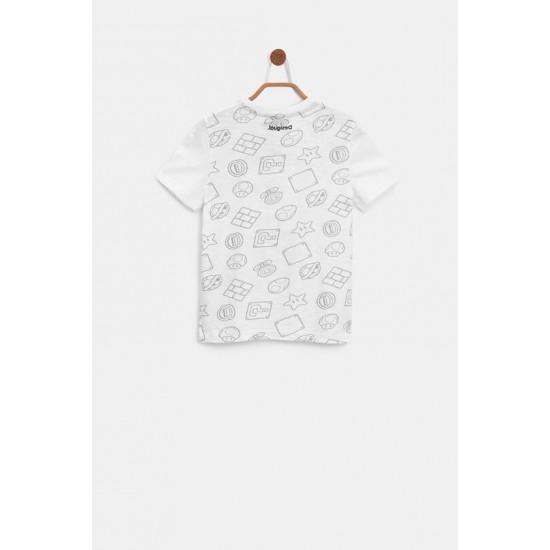 Desigual Soldes T-shirt Super Mario