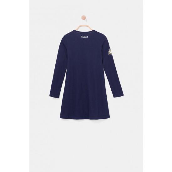 Desigual Soldes Robe t-shirt coton