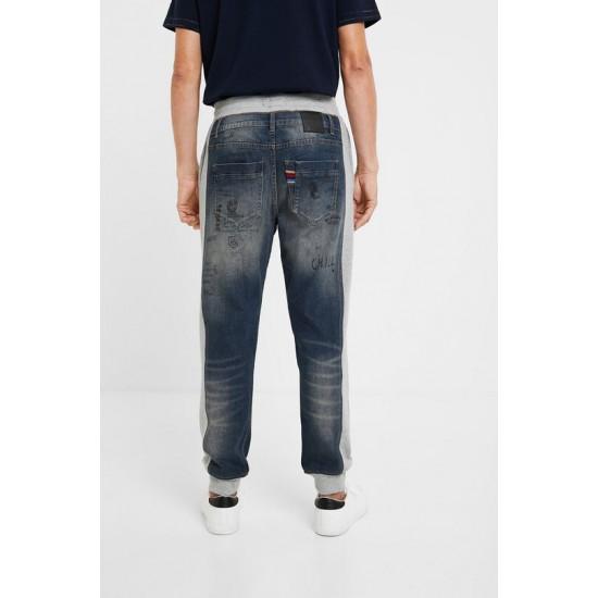 Desigual Soldes Pantalon hybride jean stylomania