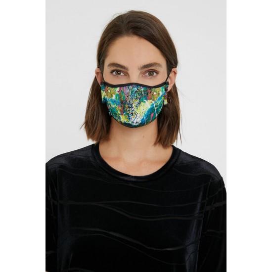 Desigual Soldes Masque effet aquarelle + housse