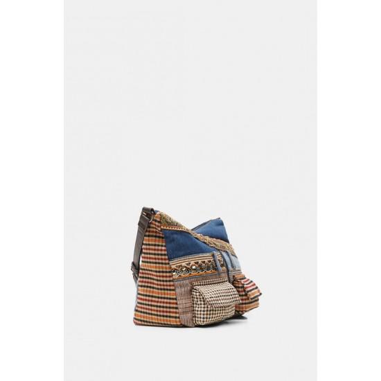 Desigual Soldes Petit sac à bandoulière patchwork