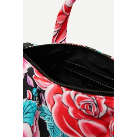 Desigual Soldes Petit sac cartable mini fleurs