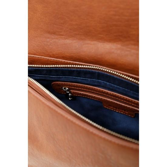 Desigual Soldes Petit sac à bandoulière effet cuir gravé