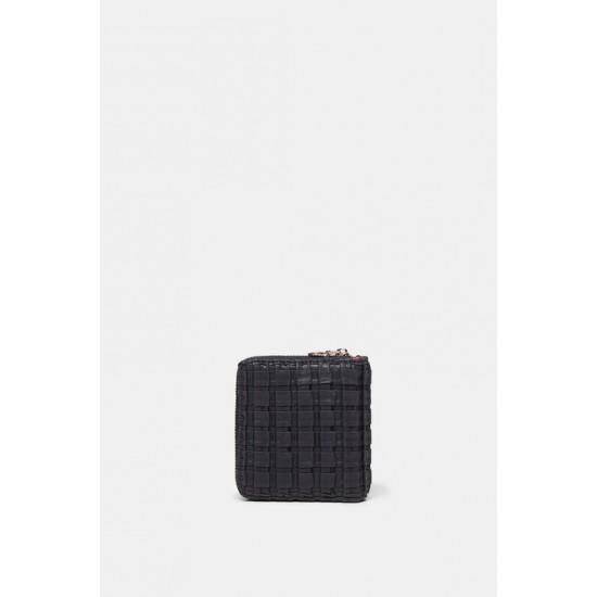 Desigual Soldes Porte-monnaie carré texturé