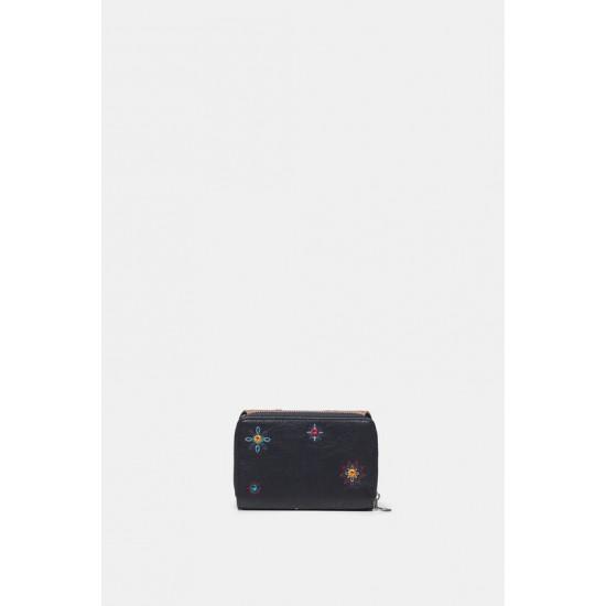 Desigual Soldes Porte-monnaie rectangulaire boho