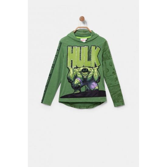 Desigual Soldes T-shirt Hulk paillettes réversibles