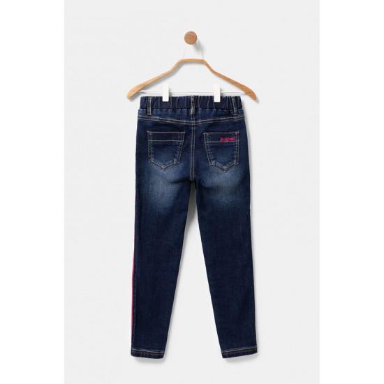Desigual Soldes Pantalon en jean skinny élastique