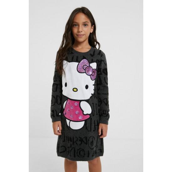 Desigual Soldes Robe courte Hello Kitty
