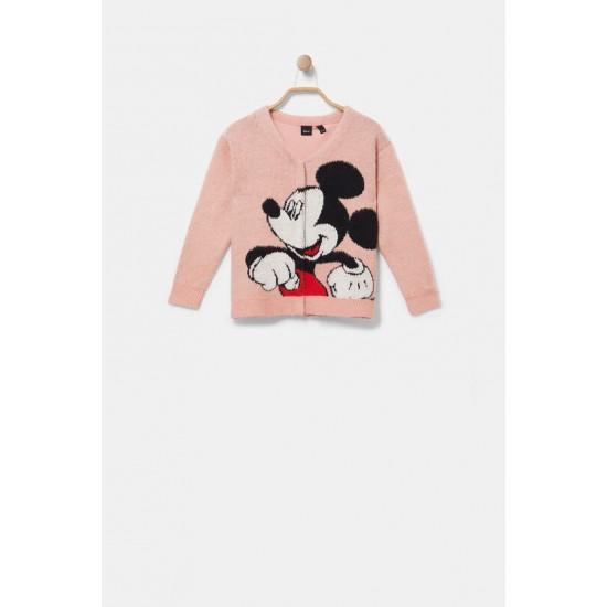 Desigual Soldes Veste maille Mickey Mouse