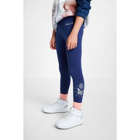 Desigual Soldes Legging basique print positionnel