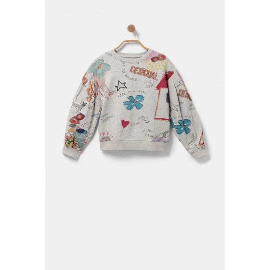 Desigual Soldes Sweatshirt stylomania paillettes