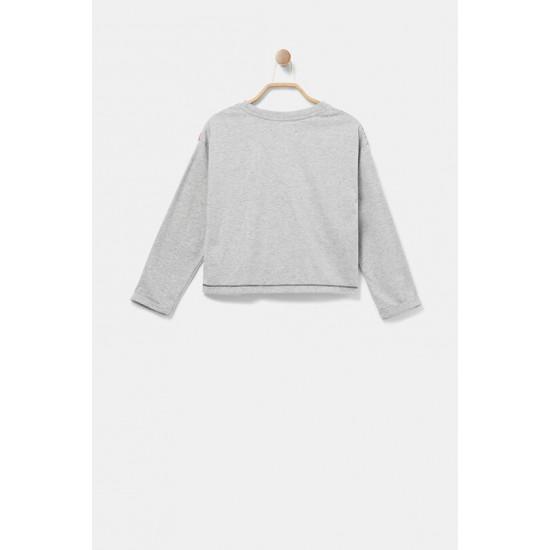 Desigual Soldes T-shirt noeud latéral