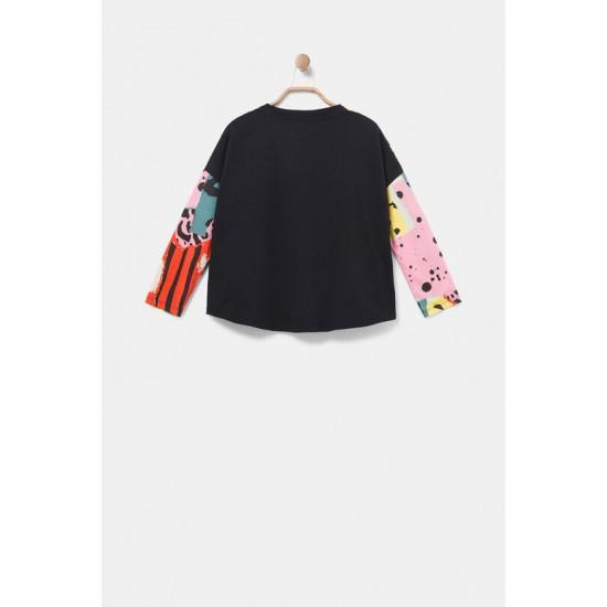 Desigual Soldes T-shirt oversize animaux