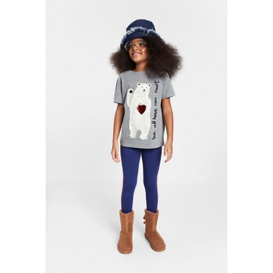 Desigual Soldes T-shirt éco-conscient 100% coton