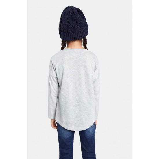 Desigual Soldes T-shirt papillon paillette réversible