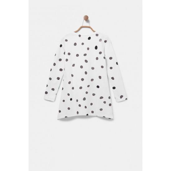 Desigual Soldes T-shirt long 100% coton