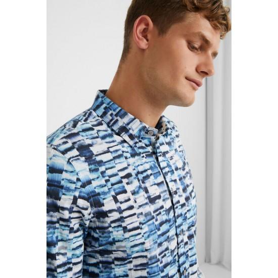 Desigual Soldes T-shirt slim arty
