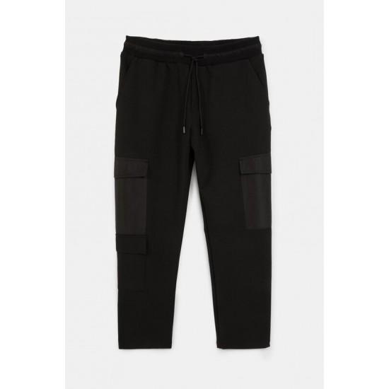 Desigual Soldes Pantalon slim cordon