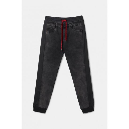 Desigual Soldes Pantalon jogger jean