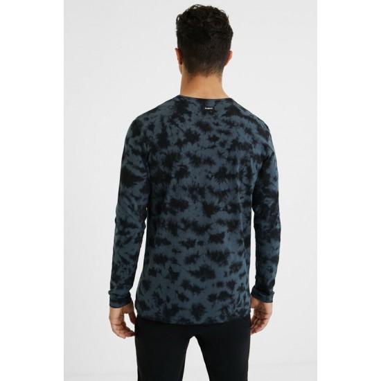 Desigual Soldes T-shirt tie-dye en coton 100%