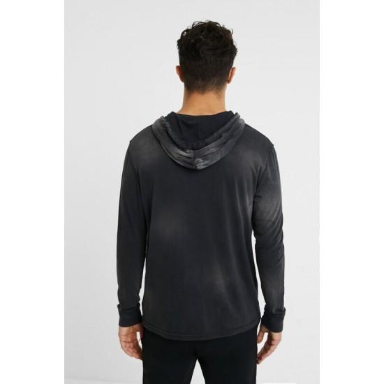 Desigual Soldes T-shirt col capuche