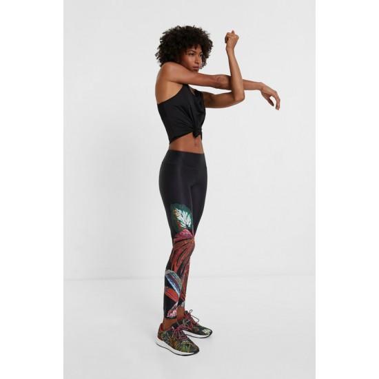 Desigual Soldes Legging sport ceinture élastique