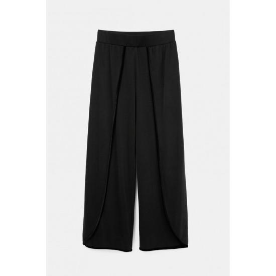 Desigual Soldes Pantalon cropped ouvertures