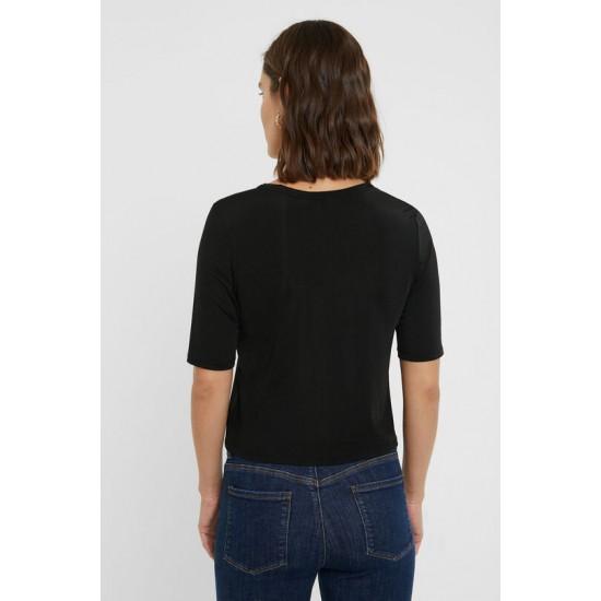 Desigual Soldes T-shirt slim monogram