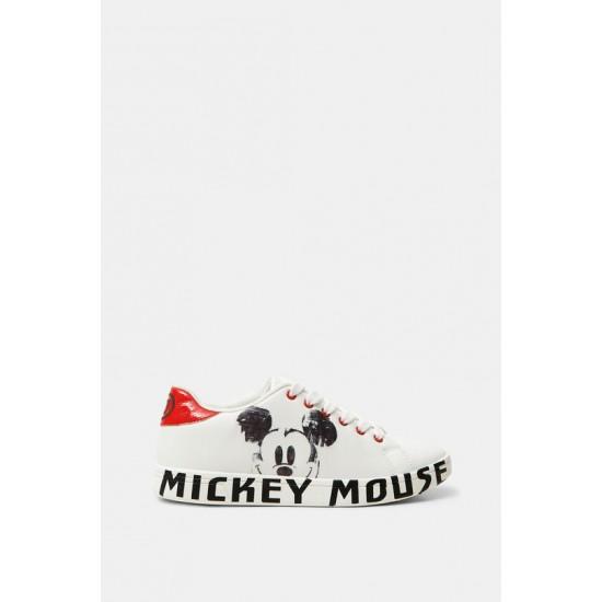 Desigual Soldes Basket basse Mickey Mouse