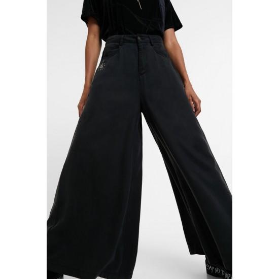 Desigual Soldes Jean super wide leg