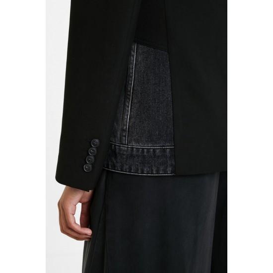 Desigual Soldes Blazer hybride en jean