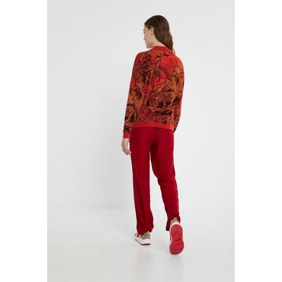 Desigual Soldes Pantalon sportif jacquard