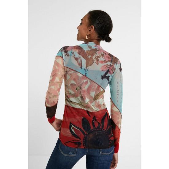 Desigual Soldes T-shirt slim floral