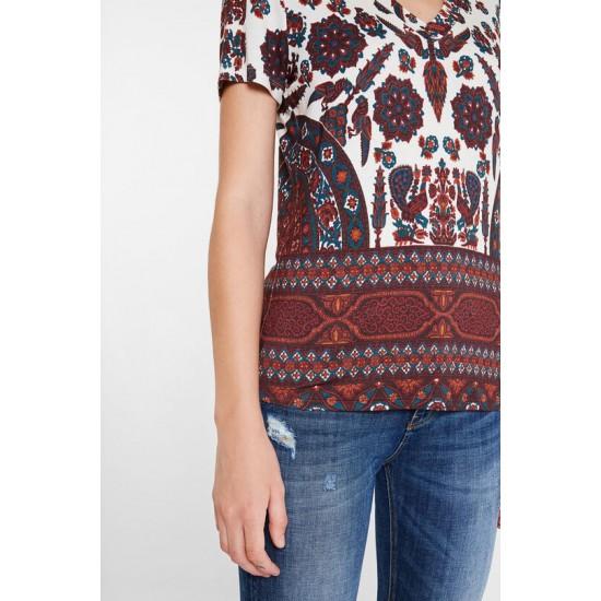 Desigual Soldes T-shirt slim boho