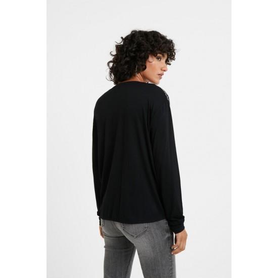 Desigual Soldes T-shirt frises mandala