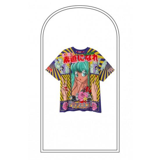 Desigual Soldes T-shirt oversize 100% coton