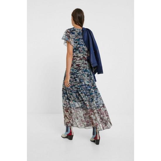 Desigual Soldes Robe longue camouflage