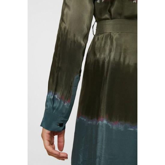 Desigual Soldes Robe chemise tie-dye