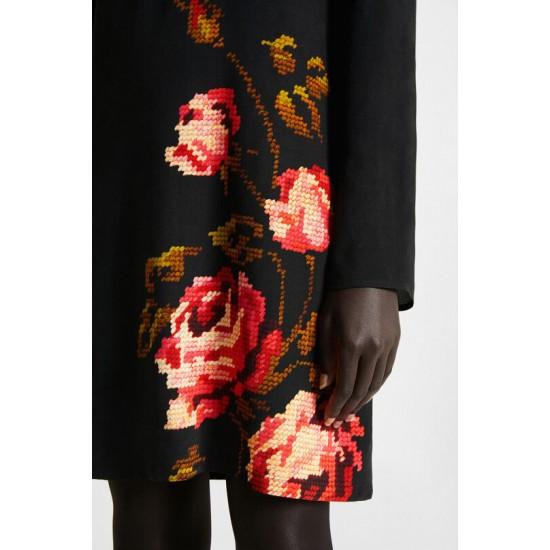Desigual Soldes Robe droite florale