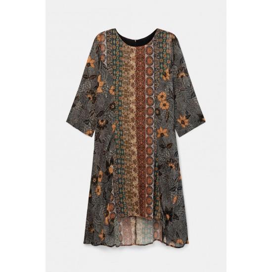Desigual Soldes Robe frises boho