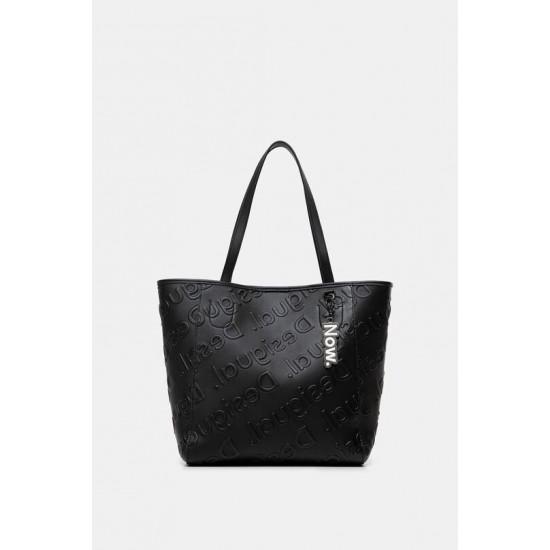 Desigual Soldes Sac shopping bag logo