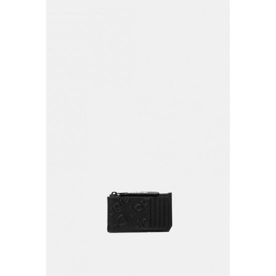 Desigual Soldes Porte-monnaie plat logo
